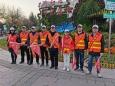 济南市口腔医院临床二支部党员参加文明出行志愿执勤活动