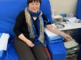 市口腔医院医生积极参加农工党义务献血活动
