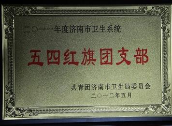 """2012年5月""""五四红旗团支部"""""""