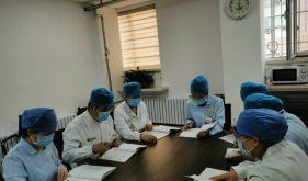济南市口腔医院特诊科进行患者晕厥急救培训