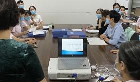市口腔医院儿童口腔1科进行《口腔不良习惯及危害》业务学习