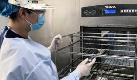 市口腔医院消毒供应中心组织进行岗位培训