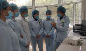 济南市口腔医院牙周黏膜病科组织进行护理人员高频电刀培训