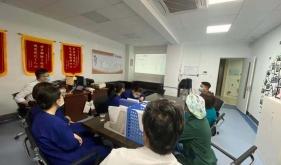 市口腔医院麻醉手术科组织学习外科手机维护