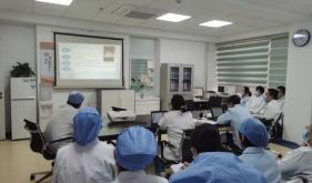 市口腔修复科组织业务学习