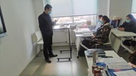 科教科对医院学生进行节前安全强化教育和检查