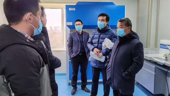 济南市口腔医院中心实验室组织实验设备培训