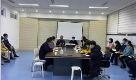 济南市口腔医院院外党支部组织支部会议