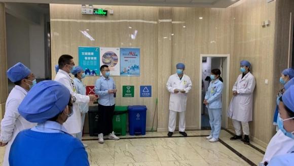 济南市口腔医院高新院区举行消防演练