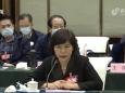 市口腔医院邵林琴主任参加政协十二届四次会议