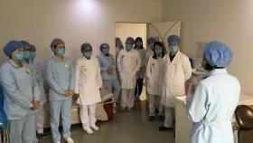 济南市口腔医院舜耕院区举行针刺伤应急演练