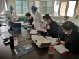 市口腔医院对临床科室开展实践教学检查