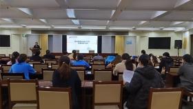 市口腔医院组织《院感环境卫生学监测采样方法》专题培训