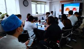 市口腔医院正畸科结合临床开展美学系统网络培训