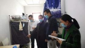 市口腔医院对学生宿舍开展卫生安全检查