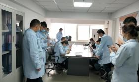 市口腔医院修复工艺科手卫生依从性培训