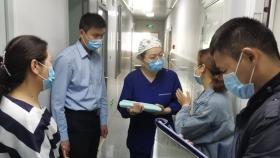 市口腔医院迎接市中区疾控中心院感防控专项督导检查