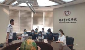 济南市口腔医院急诊综合科与预检分诊人员学习消防安全知识讲座