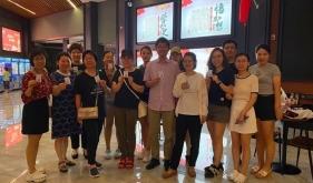 济南市口腔医院东院区观看《中国医生》丰富文化生活