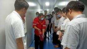 市口腔医院组织开展系列消防安全培训演练