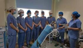 麻醉手术科进行术中断氧应急演练