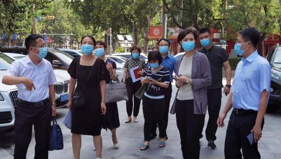 济南市口腔医院迎接市卫健委疫情防控督导组检查