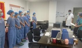 麻醉科手术室进行疑似新冠肺炎患者手术应急演练