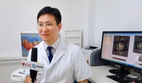 市口腔医院修复专家王荣林受邀参加大众网《医生说》视频录制