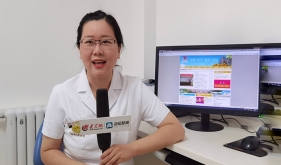 市口腔医院牙周专家孙晨受邀参加大众网《医生说》视频录制
