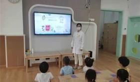 市口腔医院健康宣教走进泉秀幼儿园