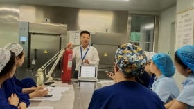济南市口腔医院消毒供应中心开展消防安全知识培训
