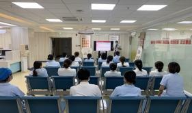 市口腔医院牙体牙髓病1科开展消防安全讲座