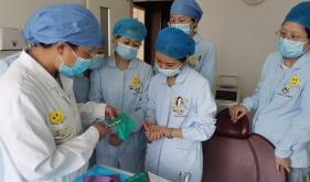 济南市口腔医院特诊科开展护理人员橡皮障使用操作培训